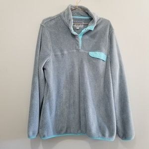 Jachs cabin 1/4 snap up soft pullover
